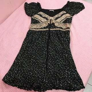 [REPRICE] Axes Femme Black Dress