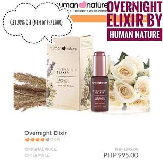 Overnight Elixir By Human Nature