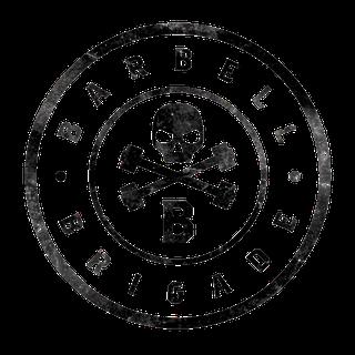 Barbell Brigade Sticker Logo