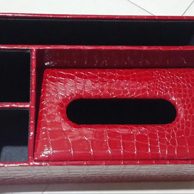 遙控器,輕巧包面紙仿皮收納盒