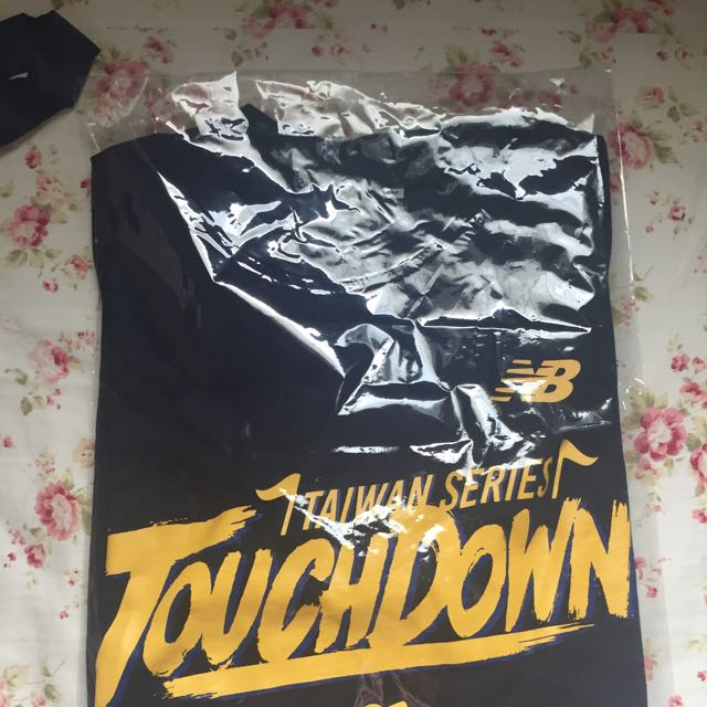 中信兄弟象 中華職棒2016 總冠軍 touchdown 達陣套裝