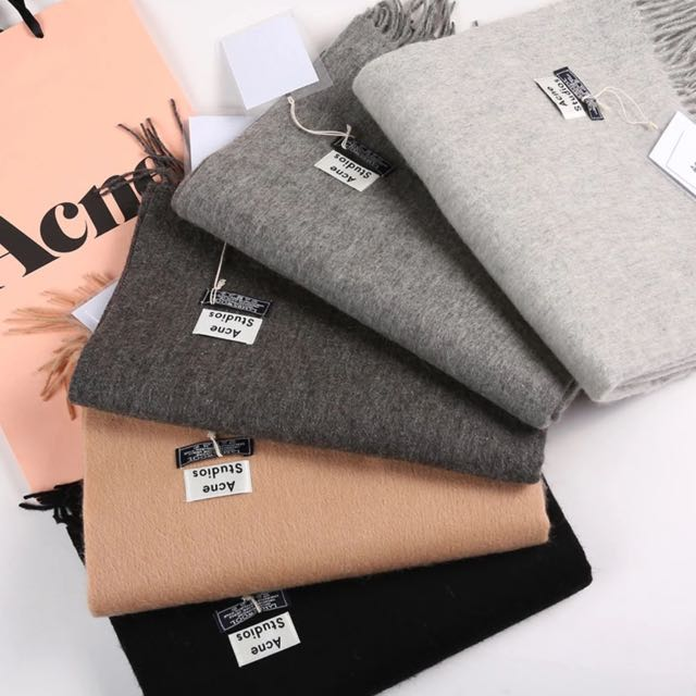 acne studio will scarf replica women 39 s fashion clothes on carousell. Black Bedroom Furniture Sets. Home Design Ideas