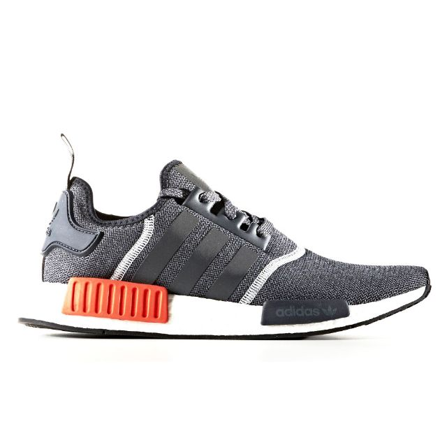 8d8eff788 Adidas NMD R1 Dark Grey Solar Red Reflective (from Korea)