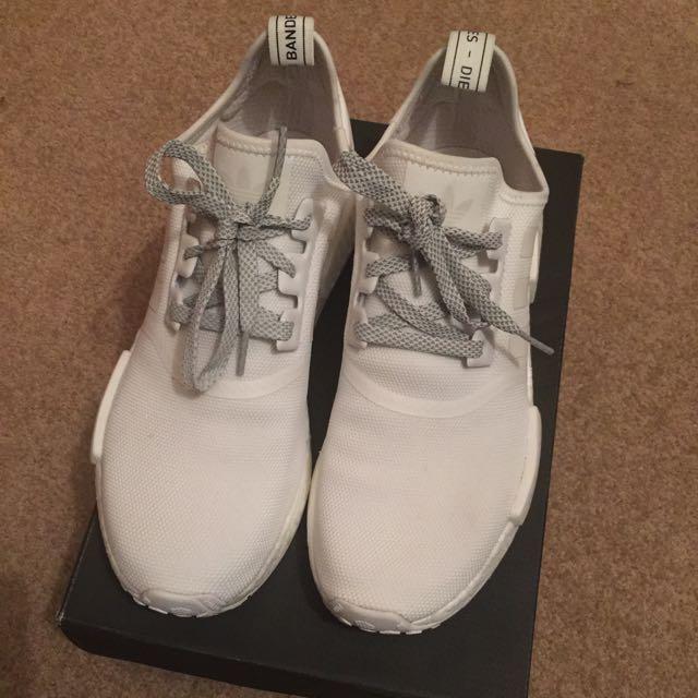 Adidas Nmd Triple White Reflective - Size 10