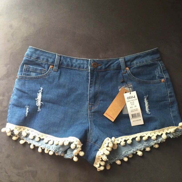 FREE SHIPPING! Ally Fashion Denim Shorts