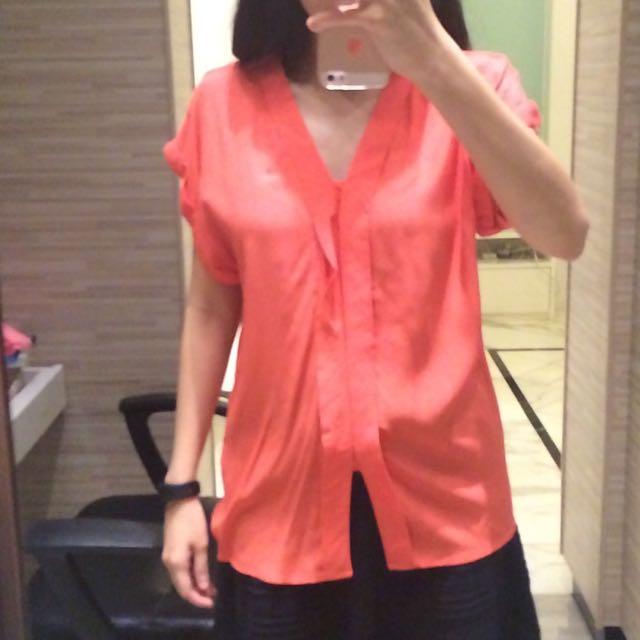 Atasan Pink H&M