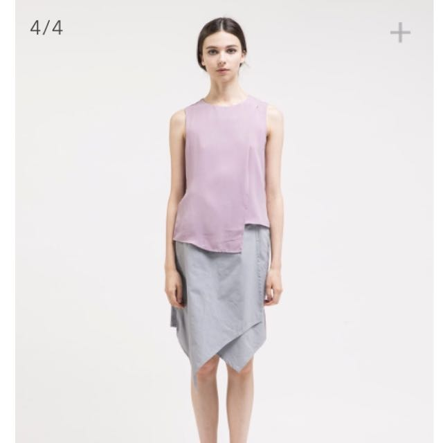 [NEW] Ats The Label Anara Grey Skirt