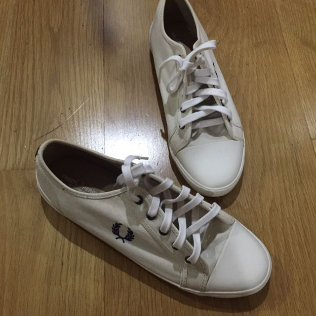 Auth. Fred Perry Shoes #iwantstarbucks