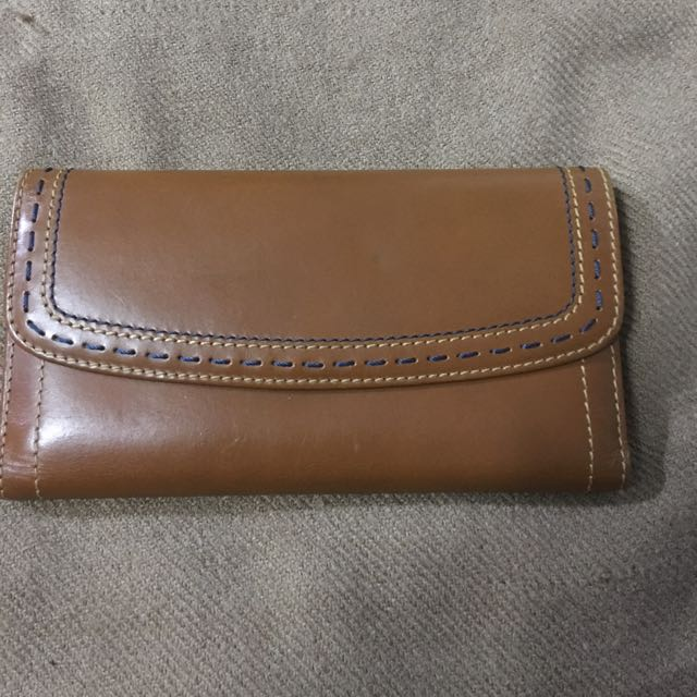 AUthentic Leather Ralph lauren long wallet