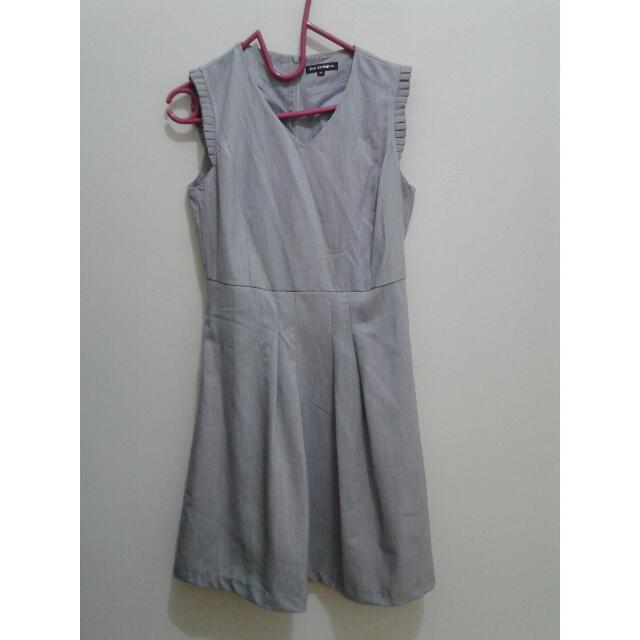 Baju grey mini dress