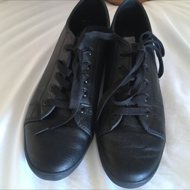 Black Work Shoes Size 10