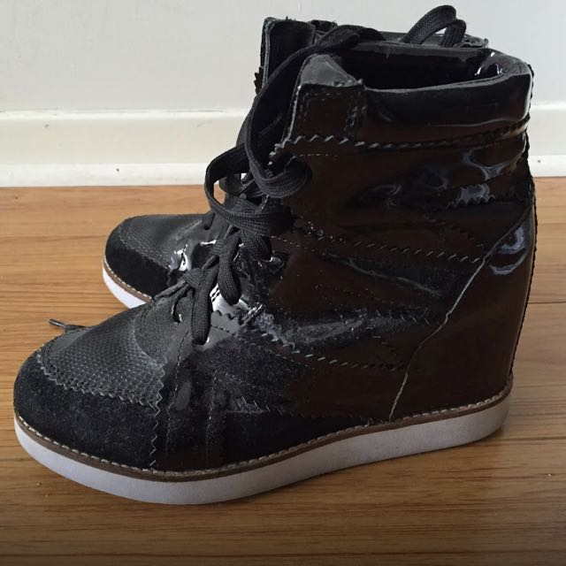 Blacker Sneaker Wedges
