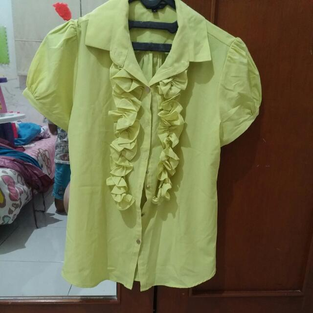Blouse Executive lime