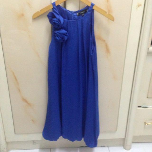 Blue Rose Dress
