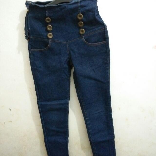 Celana Jeans Lucu