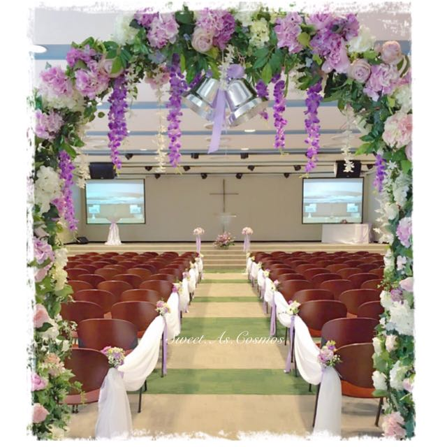Church wedding decor customisable singapore life church pls church wedding decor customisable singapore life church pls chat for quotation design craft handmade goods accessories on carousell junglespirit Image collections