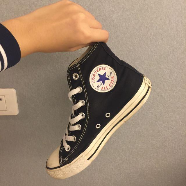 Converse All Star 高筒 黑