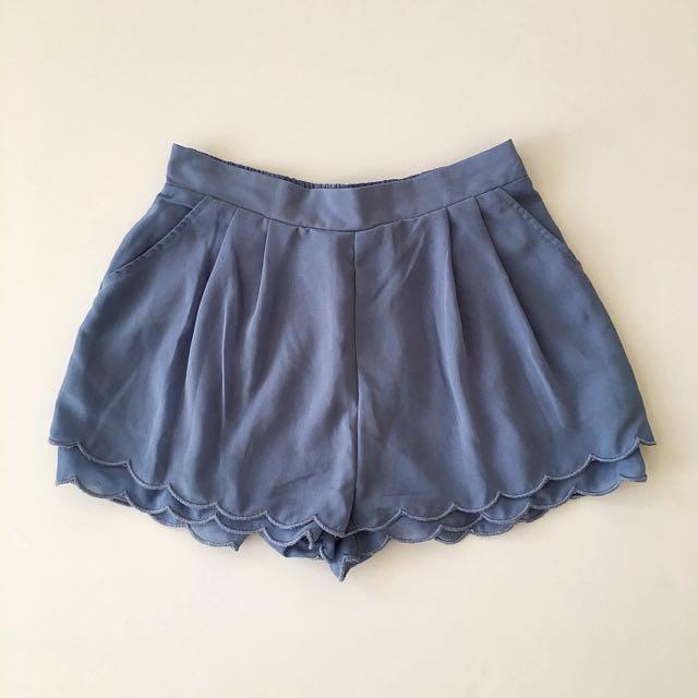 Costa Blanca Scalloped Shorts