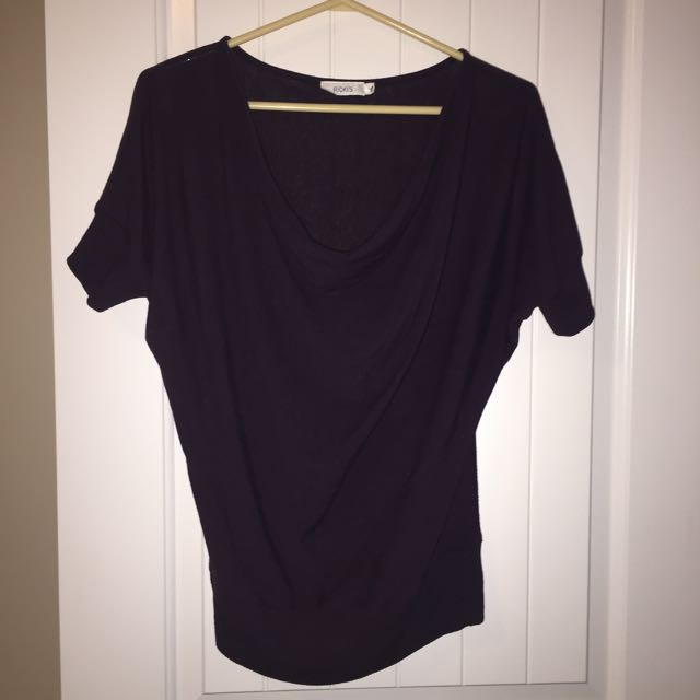 Dark purple Ricki's t shirt