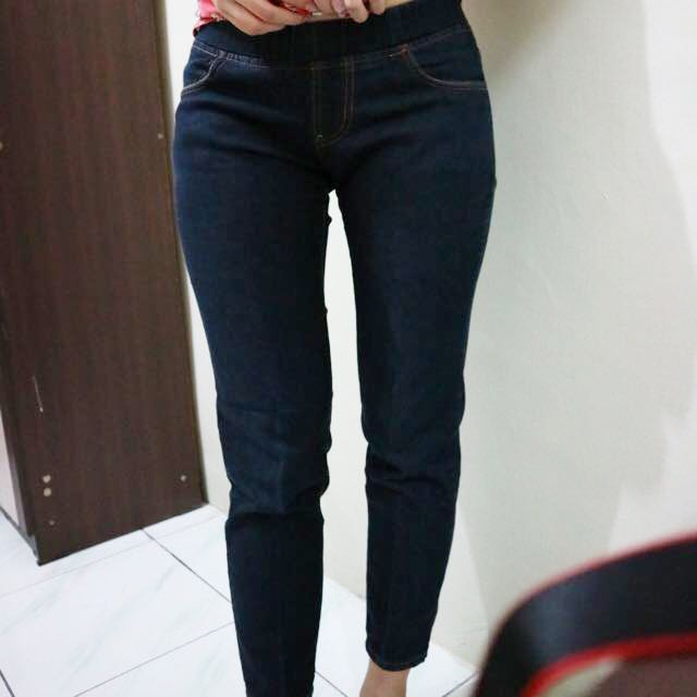 Denim Jeans In Dark Blue/Navy