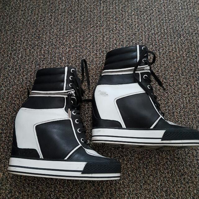 DKNY High Top Sneakers