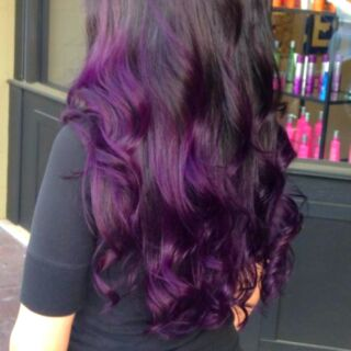 Hair Dye Coloring Powder (Violet)