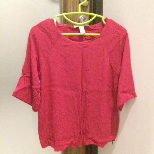 F21 PINK BLOUSE
