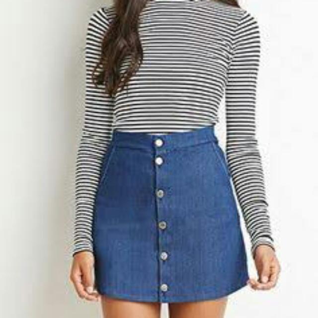 Factorie Denim Skirt. PACKED