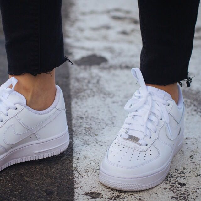 FLASH SALE) INSTOCK INSPIRED NIKE AIR FORCE 1 WHITE, Men's