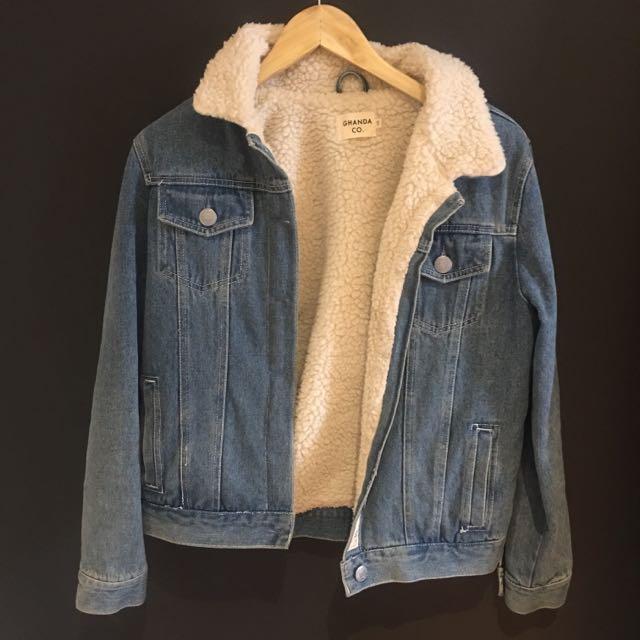 Ghanda Denim/Wool Jacket