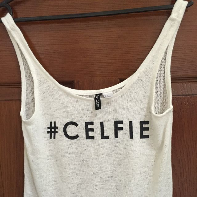 H&M #CELFIE Statement Short Sleeve