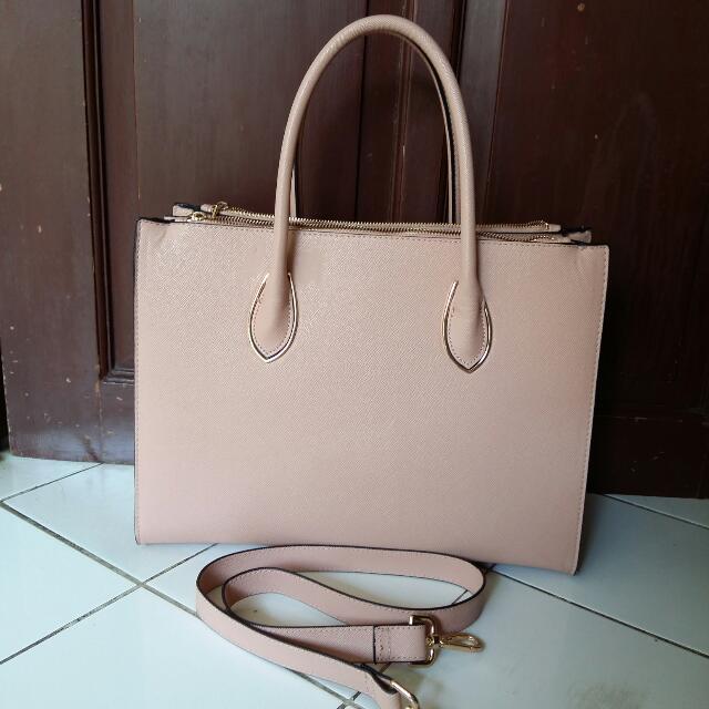 H&M Hand bag Pink