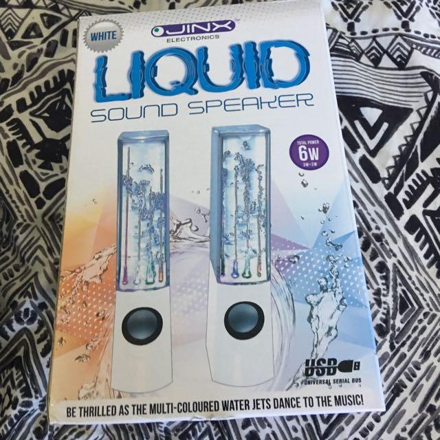 Jinx Electronic Water Speaker