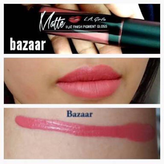 LA Girl Pigment Gloss - Bazaar