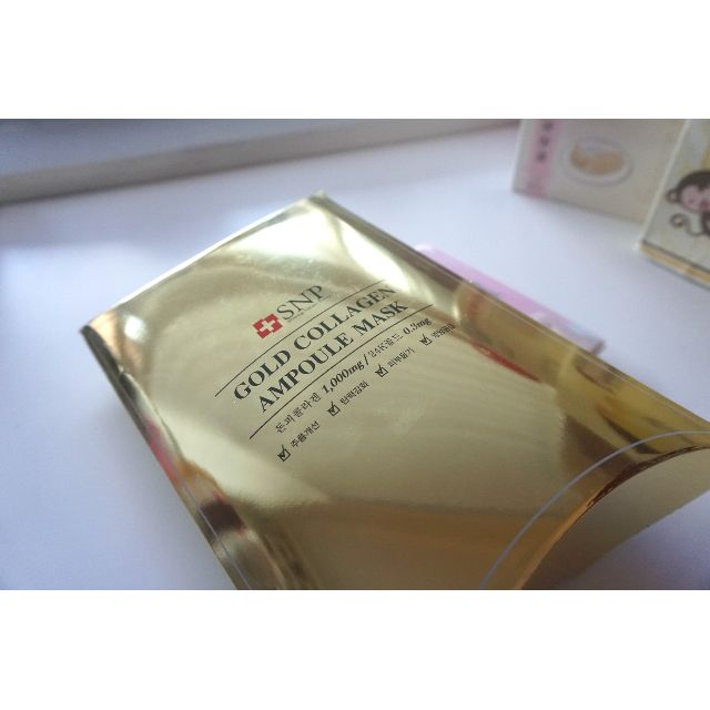 Gold Collagen Ampoule Mask from Korea