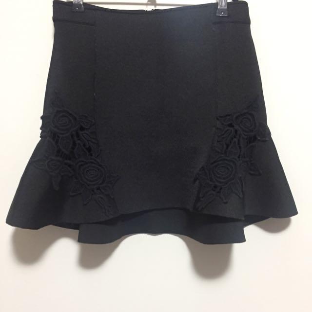 Lioness Black / Green Skirt
