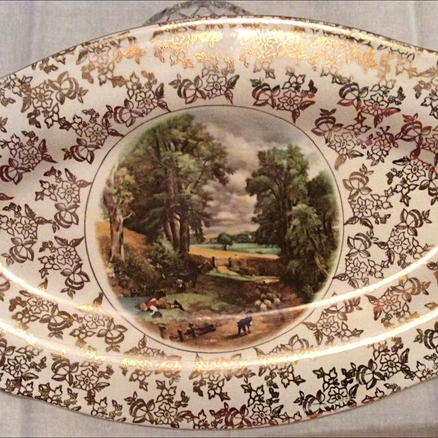 Lord Nelson ware Platter With Two Plates