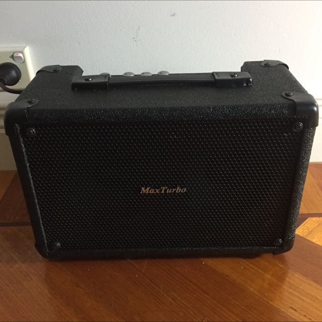 Max Turbo Guitar Amplifier with RCA Input