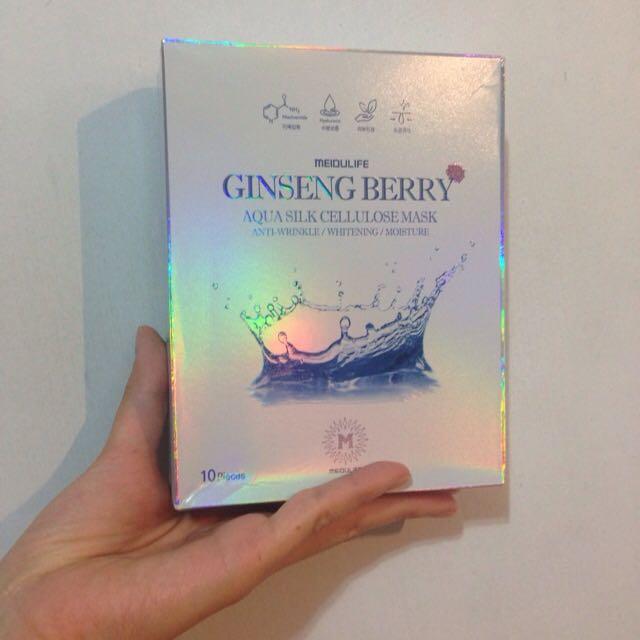 MEIDULIFE GINSENG BERRY韓國人參果水光面膜