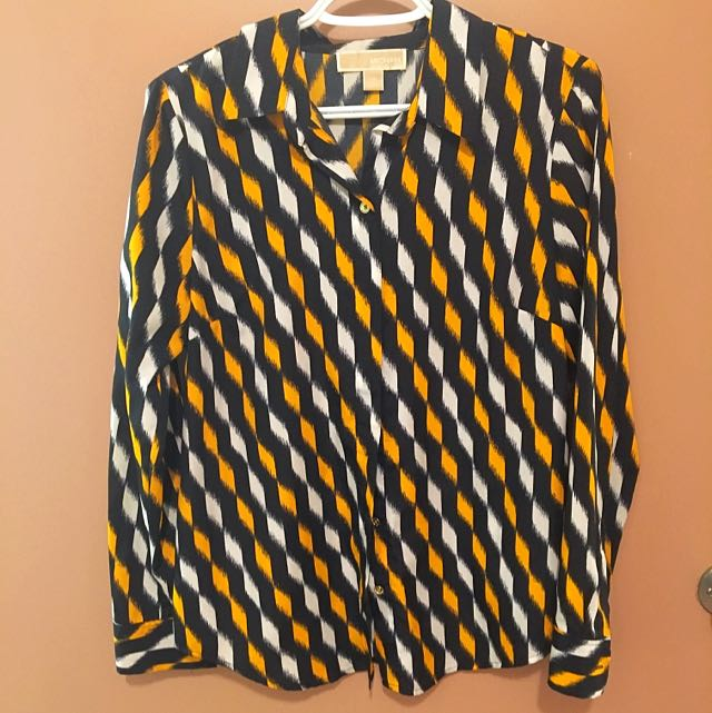 MICHAEL KORS Long sleeve Button up