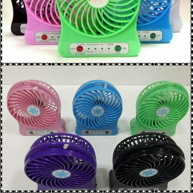 MINI FAN RECHARGEABLE