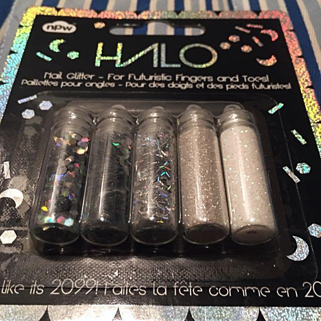 NEW Halo Nail Glitter