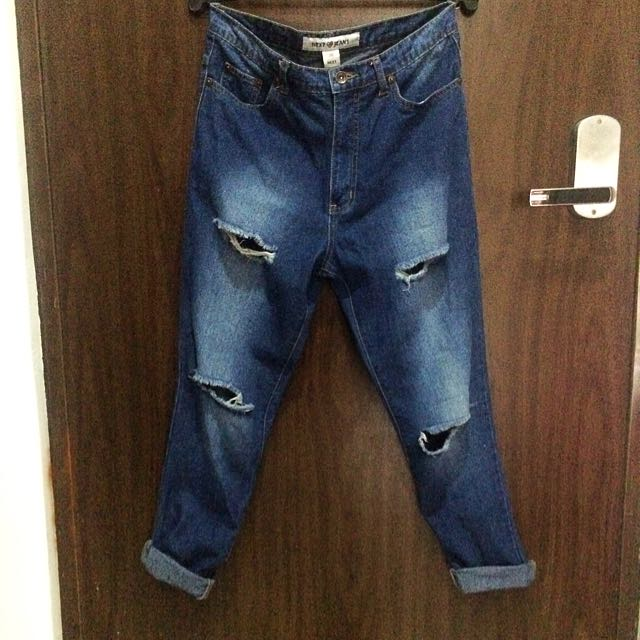 NEXT Highwaisted Ripped Jeans (Preloved)
