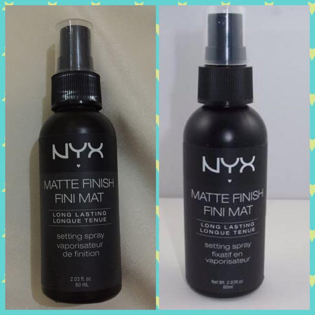 NYX Matte Finish Fini Mat