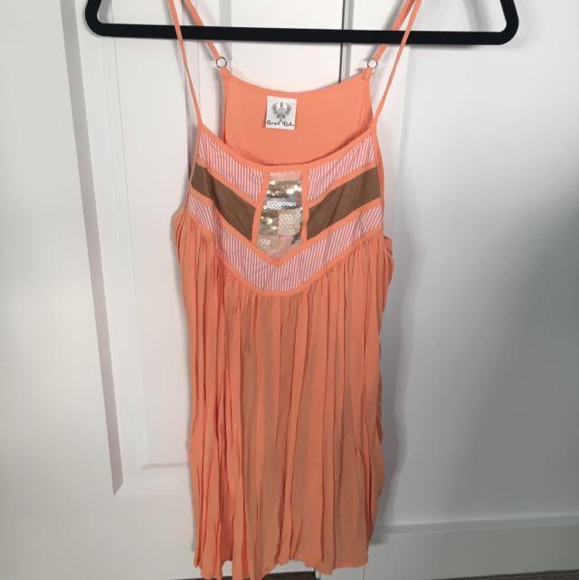 Orange Sequin Dess