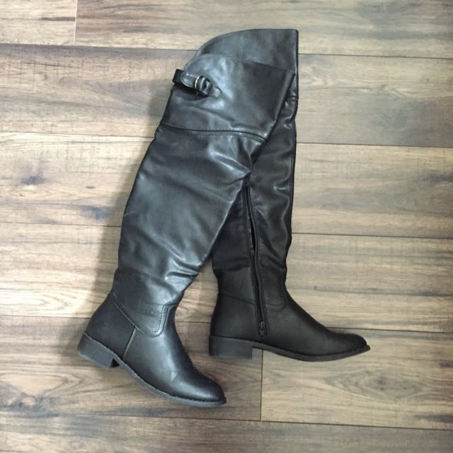 Over The Knee Riding Boots 7.5