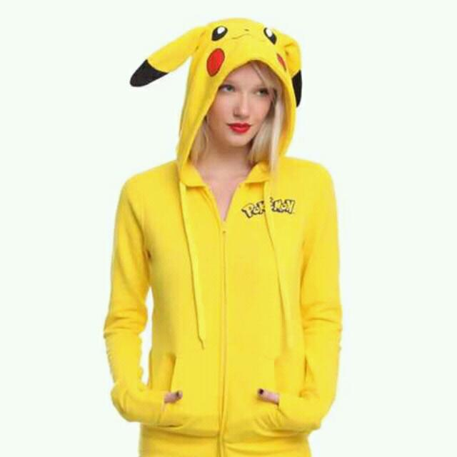 Pikachu Halloween Costume Jacket