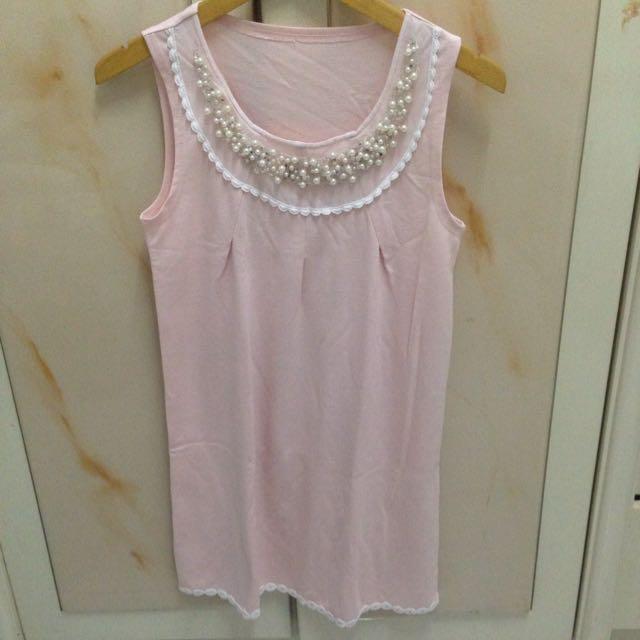 Pink Pearl Dress