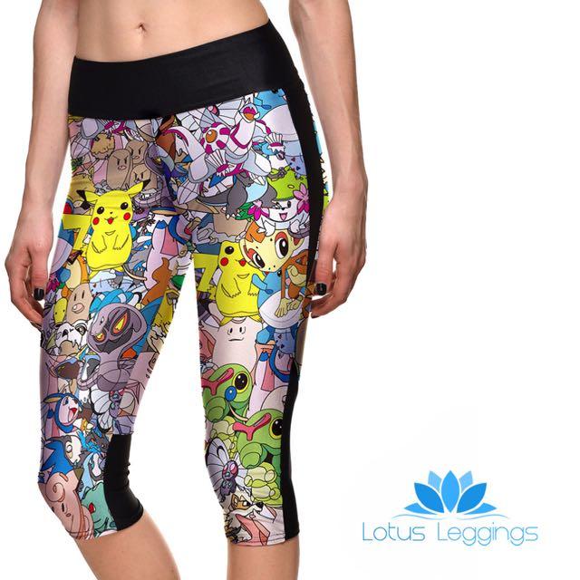 Pokemon Lotus Leggings