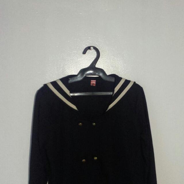 Sailor Uniform Inspired Jacket
